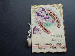 Carte ( 876 ) Mignonette  ( Pas Une Carte Postale )   - Carte De Voeux ( Petite )   Nieuwjaar - Nouvel An