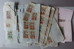 Lot De 125 Timbres Fiscaux - Fiscale Zegels