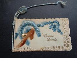 Carte ( 878 ) Mignonette  ( Pas Une Carte Postale )   - Carte De Voeux ( Petite )   Nieuwjaar - Nouvel An