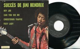 Jimi Hendrix - EP Vinyle 4 Titres - All I Want - Hard Rock & Metal