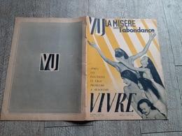 Revue Vu Mai 1936 La Misère Dans L'abondance N° Spécial  Politique - 1900 - 1949