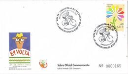 35336. Carta BARCELONA 2001. 81 Volta Ciclista Catalunya. Ciclismo, Llegada Etapa - 1931-Hoy: 2ª República - ... Juan Carlos I
