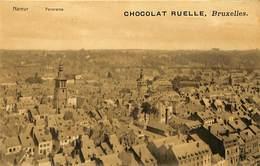 CPA - Publicité - Chocolat Ruelle - Namur - Panorama - Reclame