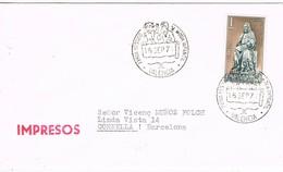 35338. Carta Impresos VALENCIA 1971. Feria Vestido Y Moda Infantil - 1931-Hoy: 2ª República - ... Juan Carlos I