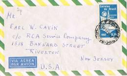35340. Carta Aerea RECIFE PERNANBUCO (Brasil) 1961 To USA - Brazilië