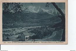 Route De Sallanches-Combloux-Megêve-Belvedère-Hotel Et Le Mont-Blanc - Combloux