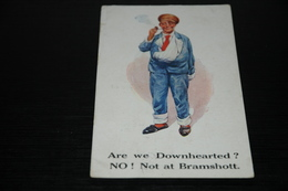 9425     ARE WE DOWNHEARTED?  NO!  NOT AT BRAMSHOTT / OLD - 1916 - Humor