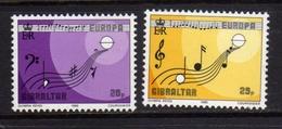 GIBRALTAR GIBILTERRA 1985 EUROPA CEPT SERIE COMPLETA COMPLETE SET MNH - Gibilterra