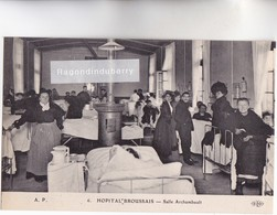 CPA - 75 - PARIS (14ème) - HOPITAL BROUSSAIS, Salle Archambault Vers 1910 - PARFAIT ETAT CARTE RARE - EDIT ELD N° 6 - Santé, Hôpitaux