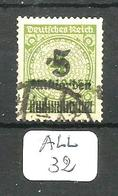 ALL Mi 333A En Obl - Used Stamps