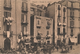 Cartolina - Postcard /  Viaggiata - Sent /  Napoli, Strada S. Lucia - Napoli (Napels)
