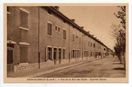 - CPA SALIN-DE-GIRAUD (13) - Vue De La Rue Des Ecoles - Quartier Solvay - Edition DUMUNIER - - France