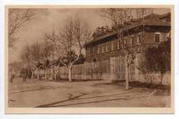 - CPA SALIN-DE-GIRAUD (13) - Les Bureaux De L'Usine Solvay - Collection DUMUNIER - - France