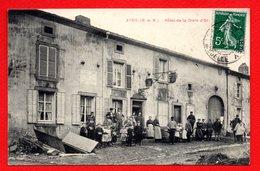 54. Environs De Briey. Avril. Hôtel De La Croix D'Or. 1910 - Briey