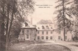39 Mont Sous Vaudrey Chateau Jules Grevy Cpa Carte Ecrite En 1915 - France