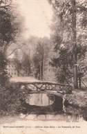39 Mont Sous Vaudrey Chateau Jules Grevy La Passerelle Du Parc Cpa Carte Ecrite En 1915 - France