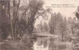 39 Mont Sous Vaudrey Chateau Jules Grevy Un Coin Du Parc Cpa Carte Ecrite En 1915 - France