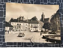 Rodewisch, Postplatz, Autos, Busse, (1403) - Deutschland