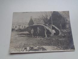 Photo ( 150 )  Foto  :  Duitse Foto  Dixmude   Diksmuide   Oorlog 1914 - 1918   Guerre - Luoghi