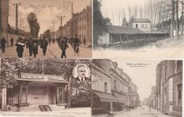4 CPA:ROMILLY SUR SEINE (10) ALBERT HOSDEZ AUDITORIUM,SORTIE OUVRIERS ATELIERS DE L'EST,RUE GORNET BAVIN,LESSIVE LAVOIR - Romilly-sur-Seine