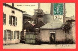 54. Environs De Longwy.  Gorcy. Entrée De L'usine Sidérurgique, Concierge. Hauts-Fourneaux. 1910 - Longwy