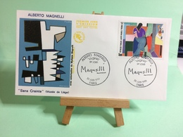 Alberto Magnelli (Musée De Liège) - Paris - 25.6.1986 - FDC 1er Jour Coté ..€ - FDC