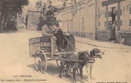 Sologne - Les Voitures à Chiens - Marchand De Journaux - Cecodi N'1257 - Francia