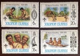 Solomon Islands 1978 Scouts MNH - Isole Salomone (1978-...)