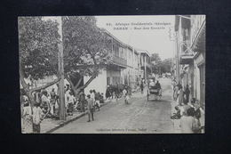 SÉNÉGAL - Carte Postale - Dakar - Rue Des Essarts - L 50447 - Sénégal