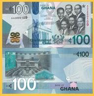 Ghana 100 Cedis P-new 2019 UNC Banknote - Ghana