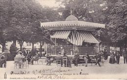 ACHAT IMMEDIAT CONTREXEVILLE DANS LES VOSGES  LE KIOSQUE DE LA MUSIQUE    CPA  CIRCULEE - France