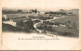 GIVRY - Villa Lumière - Vue De La Villa Et De L'allée Des Platanes ( Partie Des Vignobles Et Des Caves ) - Other Municipalities