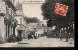 72, Chateau Du Loir, Un Coin De La Place De L'hotel De Ville - Chateau Du Loir