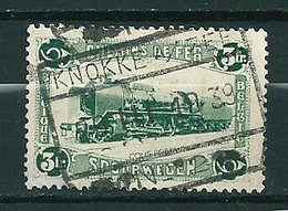 TR 175 Gestempeld KNOKKE AAN ZEE - 1923-1941