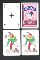 52 SPEELKAARTEN - 52 CARTES A JOUER + 2 JOKERS - IN ORIGINEEL DOOSJE - SPECIALE DOG-ALE BIER  (204) - Playing Cards (classic)