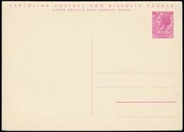 ITALIA TURRITA. Cartolina Postale Da Lire 40 (Interitalia 165) Nuova. - 6. 1946-.. Repubblica