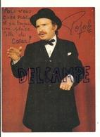 Popeck. Carte Et Autographe - Entertainers