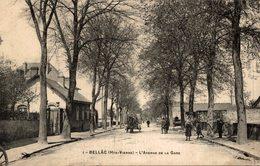 BELLAC L AVENUE DE LA  GARE - Bellac