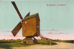 EN BEAUCE - Un Moulin à Vent - Moulins à Vent