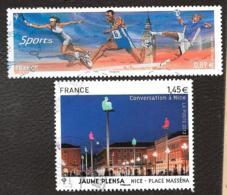 TIMBRE FRANCAIS.OBLITERATION RONDE   ...2012.. N°4673/4683.......VOIR SCAN - Usati