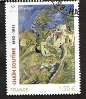 TIMBRE FRANCAIS.OBLITERATION RONDE   ...2013 ..... N° 4716.. CHAÏM SOUTINE...VOIR SCAN - Francia
