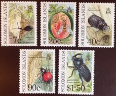 Solomon Islands 1991 Crop Pests Insects MNH - Insects