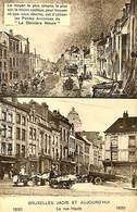 CPA - Belgique - Bruxelles - Bruxelles Jadis Et Aujourd'hui - La Rue Haute - Belgium