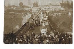 39 - SAINT - CLAUDE : CONSTRUCTION PONT CENTRAL EN 1909 . - Saint Claude