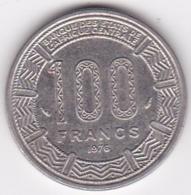 République Centrafricaine, 100 Francs 1976, En Nickel, KM# 7 - Repubblica Centroafricana