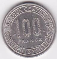 République Centrafricaine, 100 Francs 1972, En Nickel, KM# 6 - Centrafricaine (République)