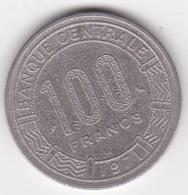République Centrafricaine, 100 Francs 1971, En Nickel, KM# 6 - Centrafricaine (République)