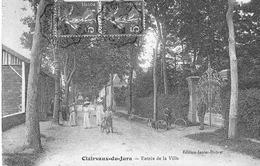 CLAIRVAUX-du-JURA - Entrée De La Ville. Edition Janier-Dubry. Circulée En 1912. Bon état. - Clairvaux Les Lacs