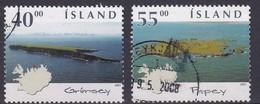 Iceland 2001 Complete Set Vfu. Cv 3 Euro - 1944-... Repubblica