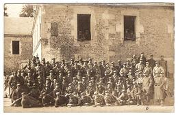 MILITARIA - CARTE PHOTO - GROUPE DE MILITAIRES - Guerra 1914-18